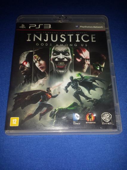 Injustice Gods Among Us Ps3 Frete R$10
