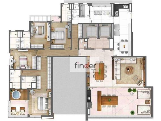 Apartamento Com 4 Dormitórios À Venda, 278 M² Por R$ 8.345.000 - Vila Olímpia - São Paulo/sp - Ap12658