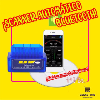 Scanner Bluetooth Automatico
