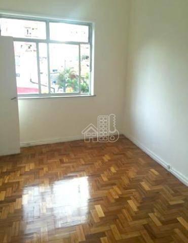Apartamento Com 3 Dormitórios À Venda, 90 M² Por R$ 395.000,00 - Icaraí - Niterói/rj - Ap0849