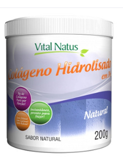 Colageno Hidrolisado+vitamina C (200g) Natural Vital Natus
