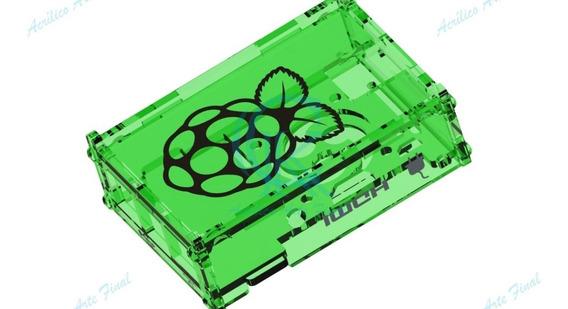 Projeto Case Placa Raspberry Pi3