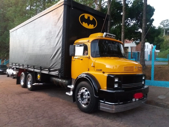 Mb 1313 Truck Ano 1984, Sider 8m
