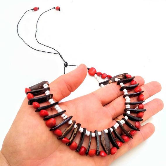 Colar Boa Energia Amuleto Indígena Umbanda 3