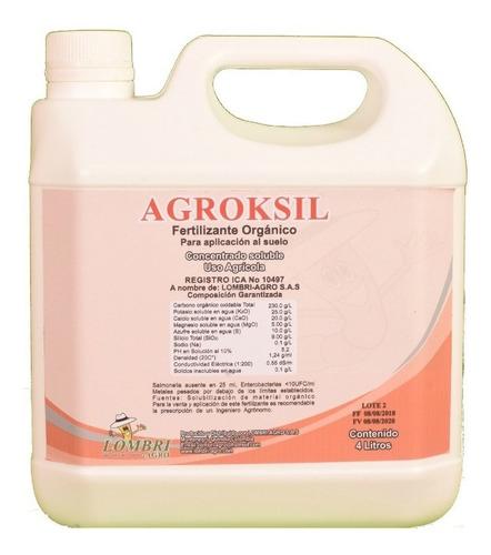 Agroksil Fertilizante Orgánico (1 Galon 4 Litros)