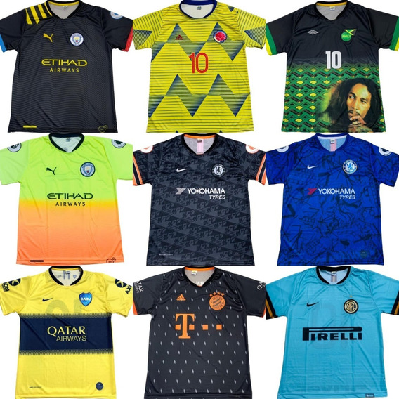 10 Camisas De Time Futebol Atacado, Modelos 2020