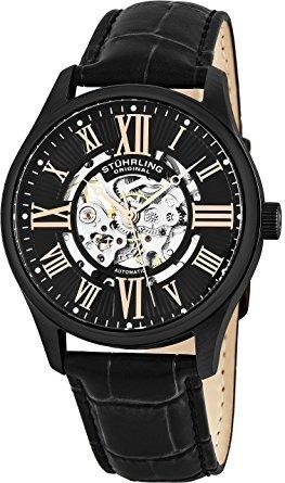 Reloj Acero Inoxidable Correa Piel Hombre 747.03 Stührling