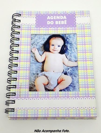 Agenda Do Bebê Escolar Maternal Berçário Com Janela P/ Foto
