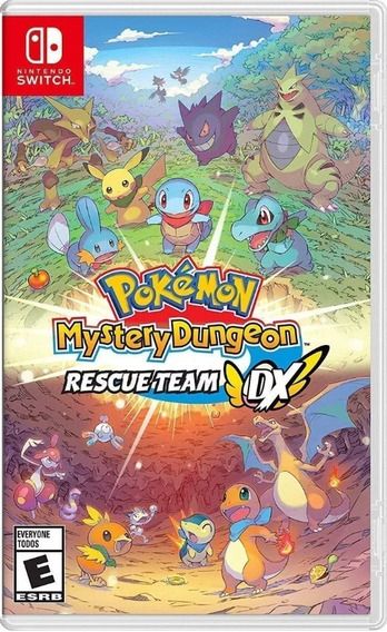 Pokémon Mystery Dungeon Dx : Rescue Team Switch Físico Novo