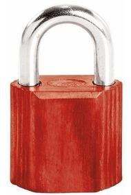 Candado No.9 Corto Rojo Lock