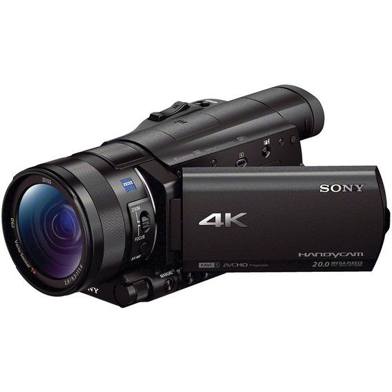 Filmadora Sony Fdr-ax100 4k Ultra Hd Nf-e Brasil