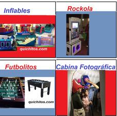Renta De Inflables, Brincolines, Rockolas Futbolitos