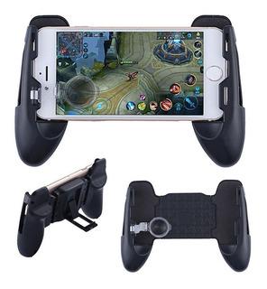 Suporte Jogos Celular Gamepad Game Handle 3x1 Botão Controle