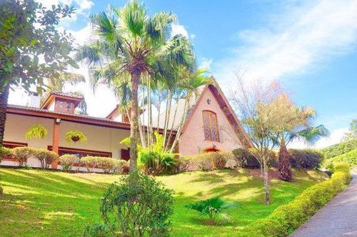 Casa Com 6 Dormitórios 3 Suítes À Venda, 800 M² Por R$ 1.850.000 - Chácara Vale Do Rio Cotia - Carapicuíba/sp - Ca2824