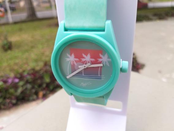 Relógio Neff Daily Wave Wild Verde Borracha Eua Original