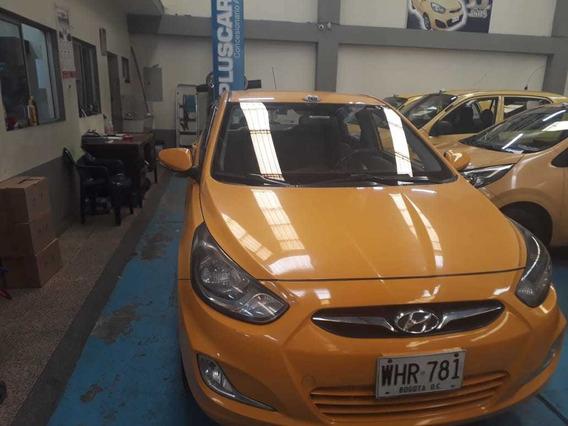 Hyundai Accent I 25 Modelo 2015 Cilindraje 1600 Taxi