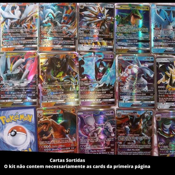Lote 25 Cartas Pokemon Gx Novas Sem Repetidas Pronta Entrega