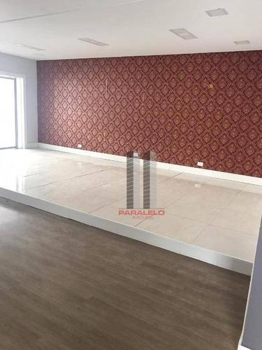 Salão Para Alugar, 325 M² Por R$ 15.000/mês - Parque Da Mooca - São Paulo/sp - Sl0321