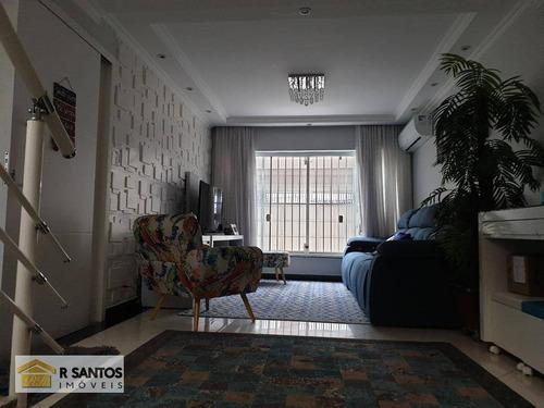 Sobrado Com 3 Dormitórios, 271 M² - Venda Por R$ 1.250.000,00 Ou Aluguel Por R$ 6.700,00/mês - Jardim Aeroporto - São Paulo/sp - So1394