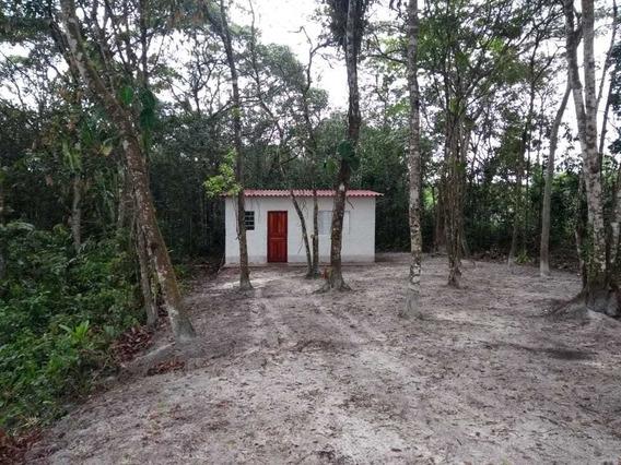 Casa Terreno Escriturado A Venda Em Itanhaém, Aceira Carro
