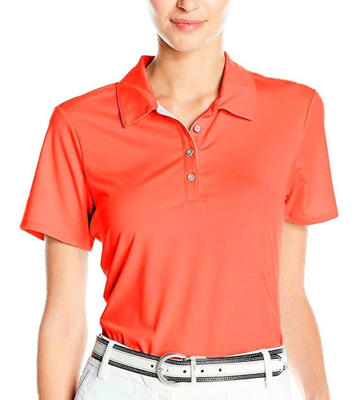 Playera Atletica De Golf Polo Essentials Cotton Mujer adidas Full Af2776