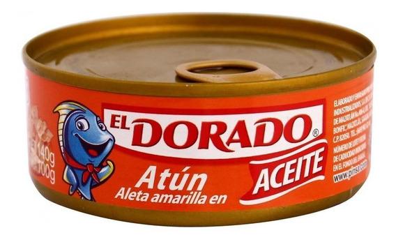 Caja Atún En Aceite Dorado En 48 Piezas De 140 Grs