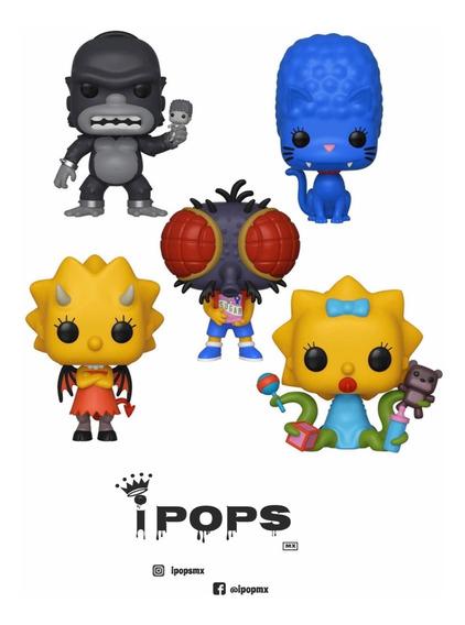Funko Pop ! Los Simpsons Terror -set Los Simpsons Terror 5pz