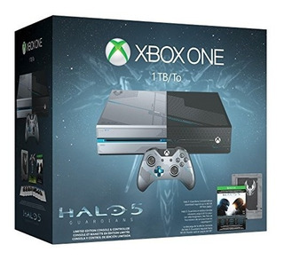 Xbox One 1tb Console Edicion Limitada Halo 5 Guardians Bundl