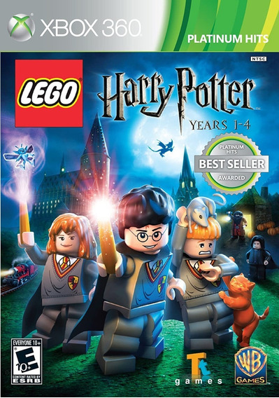 Lego Harry Potter Years 1-4 Xbox 360 Mídia Física Lacrado