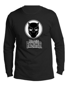 Camiseta Estampada Black Panter / Pantera Negra