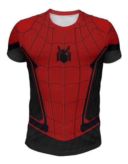 Remera Spiderman Far From Home (hombre Araña)