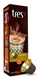 Cápsulas 3 Corações Espresso Chai Latte 10un