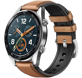 Reloj Inteligente Huawei Gt Gps Bluetooth Café