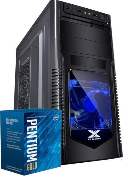 Cpu Orion Intel Pentium G5400 H310m 4gb Ssd 120gb 200w Cnf