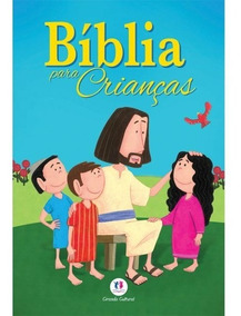 Livro Infantil Ilustrado Biblia Infantil 191 Paginas