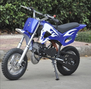 Moto A Gasolina Para Niños De 49cc
