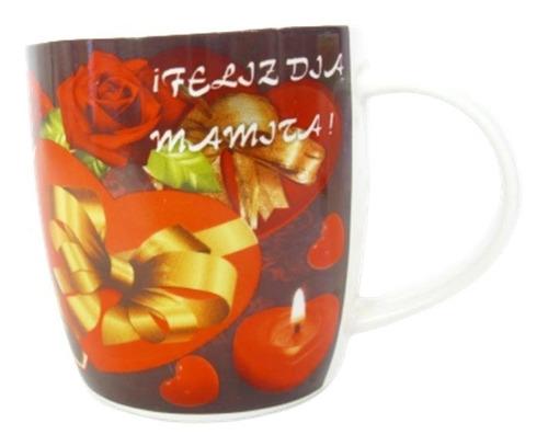 Set (2) Taza Mug Grande Día De La Madre Y Padre