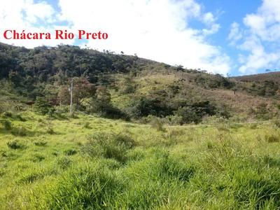 Sítio Em Rio Preto Mg, Perto De Santa Rita De Jacutinga, Com 07 Ha , Casa Com 03 Quartos , 1,5 Klm Terra. - 4476