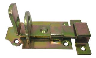 Cerradura Pasador De Puertas Porta Candado 3 Pulgadas Metal