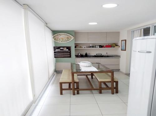 Apartamento 127m² Andar Alto 3 Suites 3 Vagas+depósito