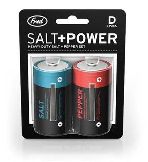 Salt+power Para Sal Y Pimienta Fred & Friends