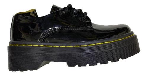 Zapatos Nival Charol Suela Doble Plataforma