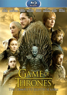 Blu-ray Game Of Thrones Temporada 8 Completa