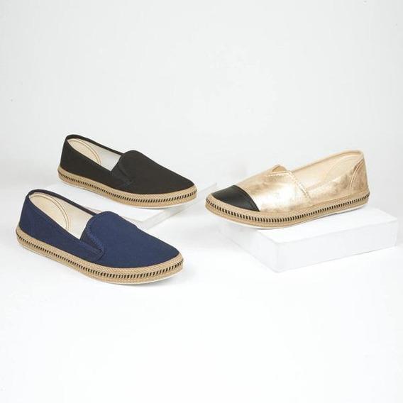 Combo 3x1 Zapatillas Para Dama Multicolor 016540