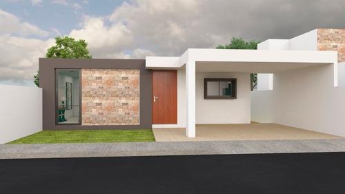 Imagen 1 de 9 de Casa En Venta Privada Canaria, Conkal (lote 25)