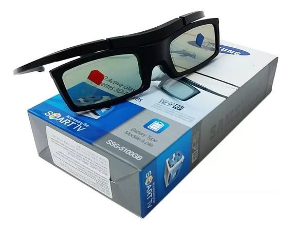 Óculos 3d Samsung Ativo Ssg-5100gb C/ Bateria Novo Nf