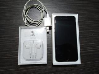 iPhone 6 Como Nuevo - 16gb + Aud Nuevos+cargador Original