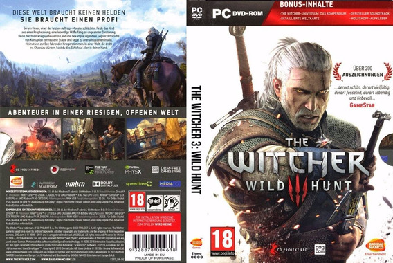 The Witcher 3 Pc (mídia Física)