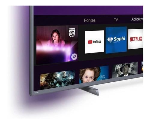 Smart Tv Led 55'' Philips 55pug6794 4k Ultra Hd Ambilight