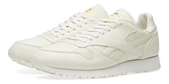 Tênis Reebok Sneakersnstuff X Reebok Classic Premium Leather
